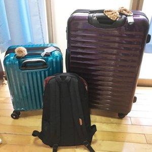 イギリス語学留学スーツケース