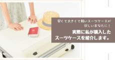 イギリス語学留学格安スーツケース